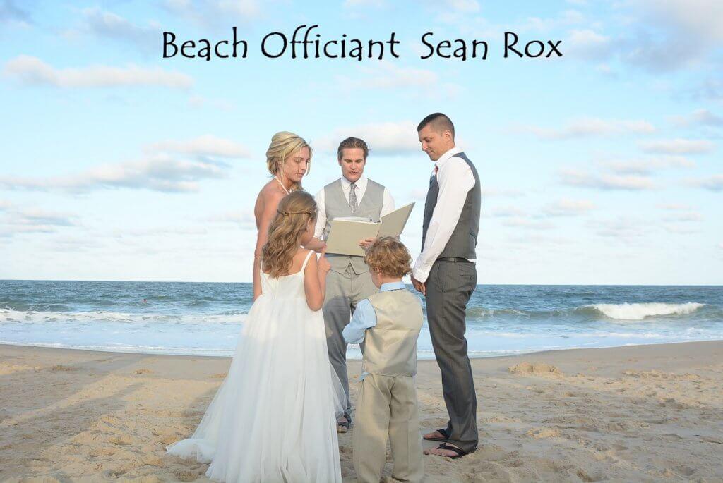 Officiant Sean Rox