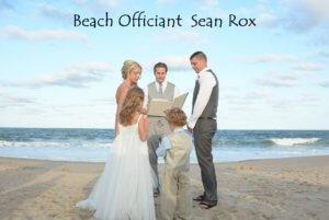 Beach Wedding Officiant Sean Rox