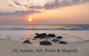 Ocean City MD Sunrise Art