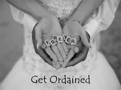 Get Ordained for Ocean City Weddings