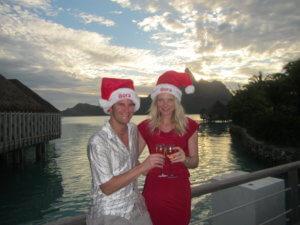 Bora Bora Christmas Sean & Cassandra Rox