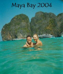 Maya Bay Sean and Cassandra Rox