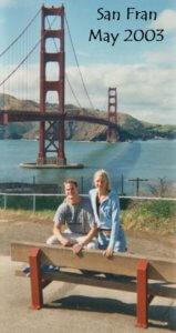 Sean Rox Cassandra Golden Gate Bridge