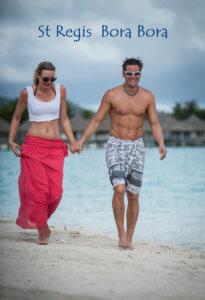 St Regis Bora Bora Cassandra & Sean Rox