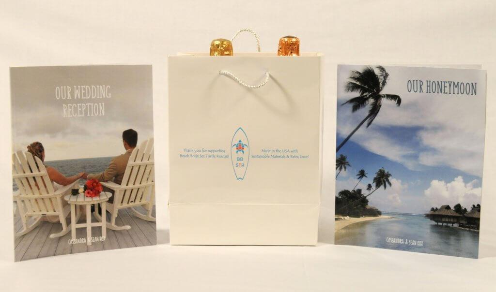 Beach Bride Wedding Gift Bag