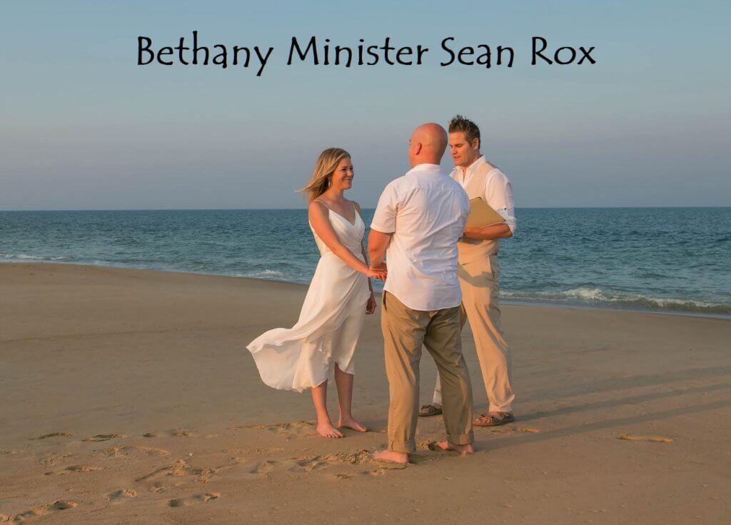 Bethany Beach Wedding Minister Sean Rox