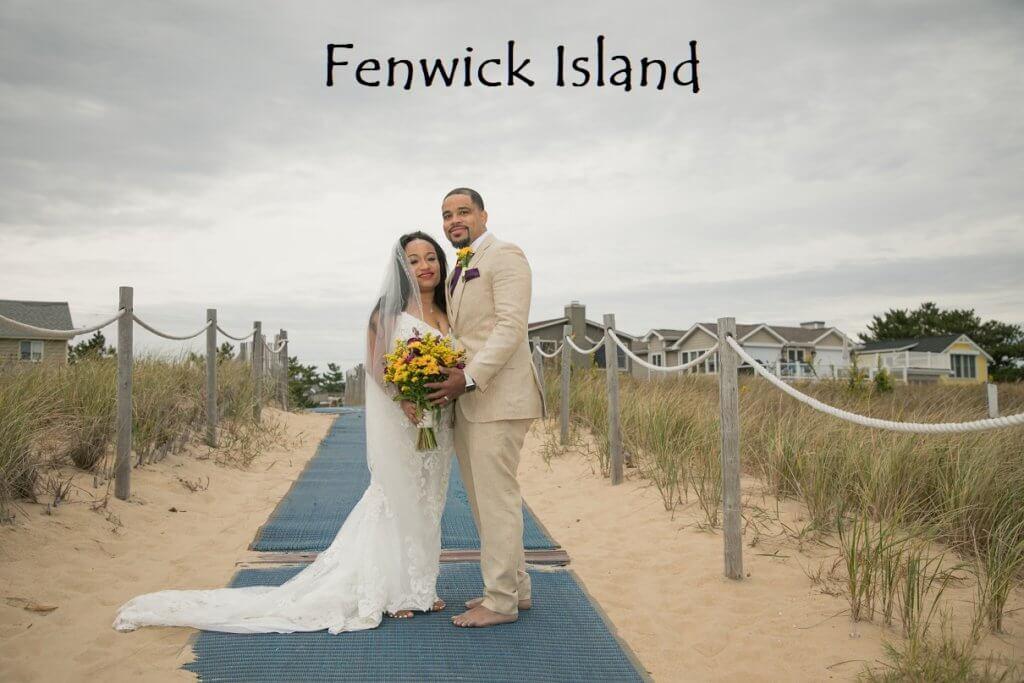 Fenwick Island Beach Wedding