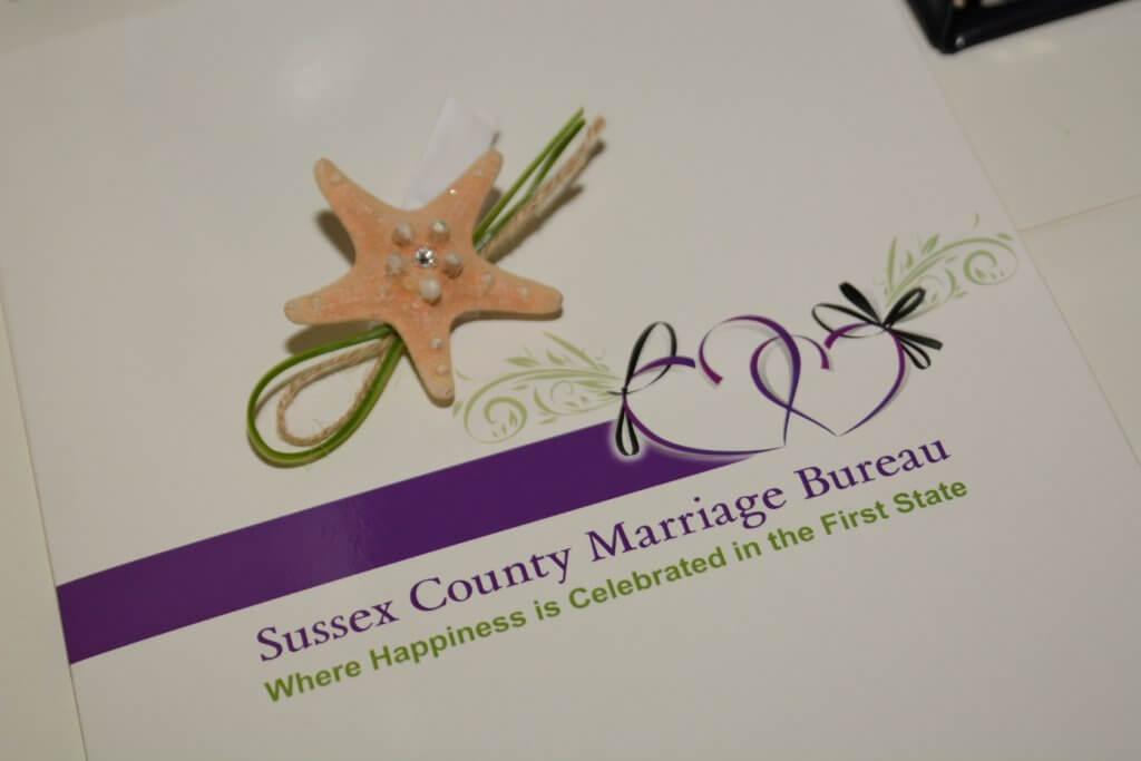 Sussex County DE Marriage License