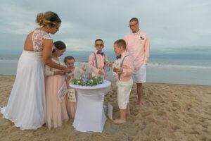 Sand Unity Ceremony for Beach Weddings